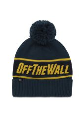 Шапка VANS Off The Wall Pom Beanie Dress Blue-Su 193391110943