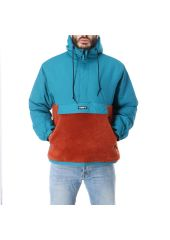 Анорак OBEY Splits Sherpa Anorak Pure Teal Multi 2020 193259135101