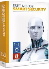 Антивирус Eset NOD32 Smart Security 3ПК 6 месяцев