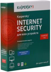Антивирус Kaspersky Internet Security Multi-Device Russian Ed. 3ПК 1 год Base Box