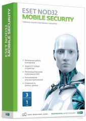 Антивирус Eset NOD32 Mobile Security 3ПК/1 год (12мес)